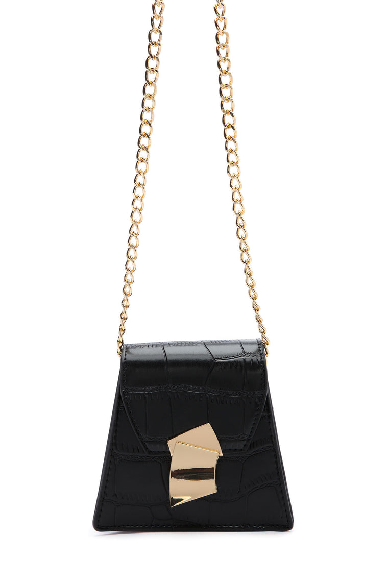 Sweet Desire Mini Handbag - Black