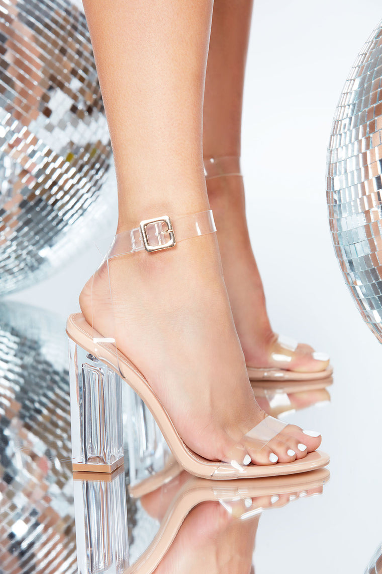 The Glass Slipper - Transparent, Shoes