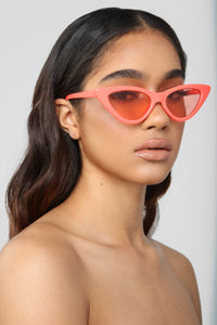 Please And Thank You Sunglasses - Orange
