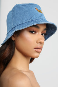 Butterfly Effect Bucket Hat - Denim