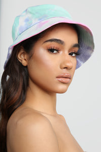 Chill Vibes Tie Dye Hat - MultiColor