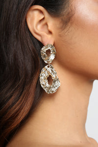 Tiered Of You Earrings - Gold
