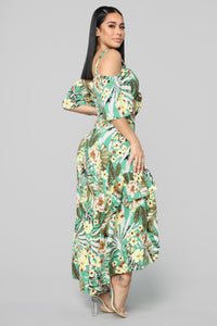 Tropicali Mami Skirt Set - Green
