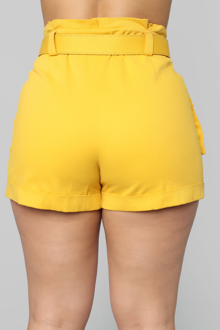 Safari Cruise Cargo Short - Mustard