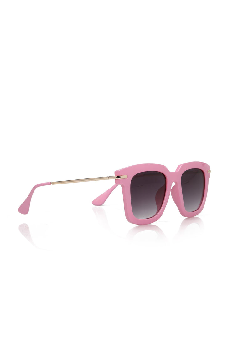 On Repeat Sunglasses - Pink