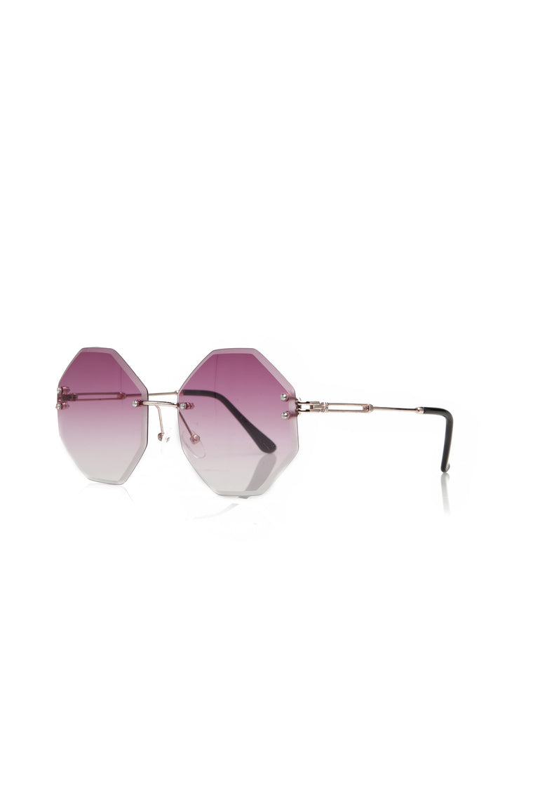 Oh No Honey Sunglasses - Purple