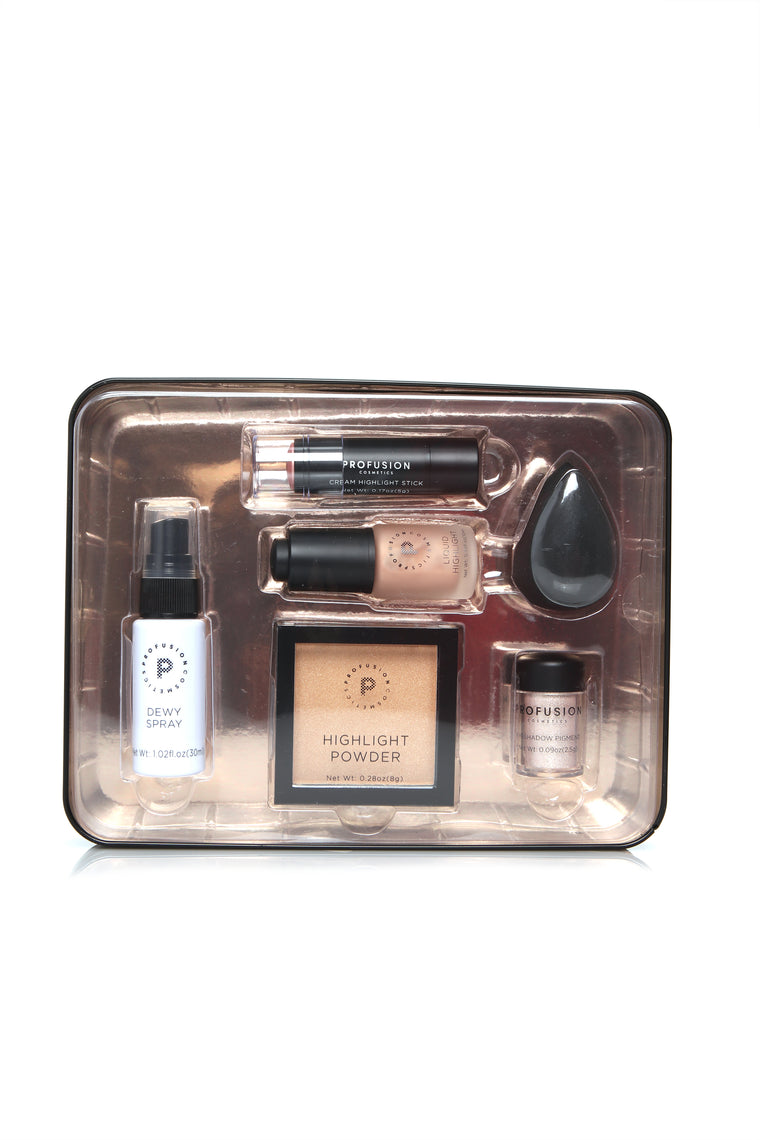 Profusion Cosmetics Strobe Set - Multi