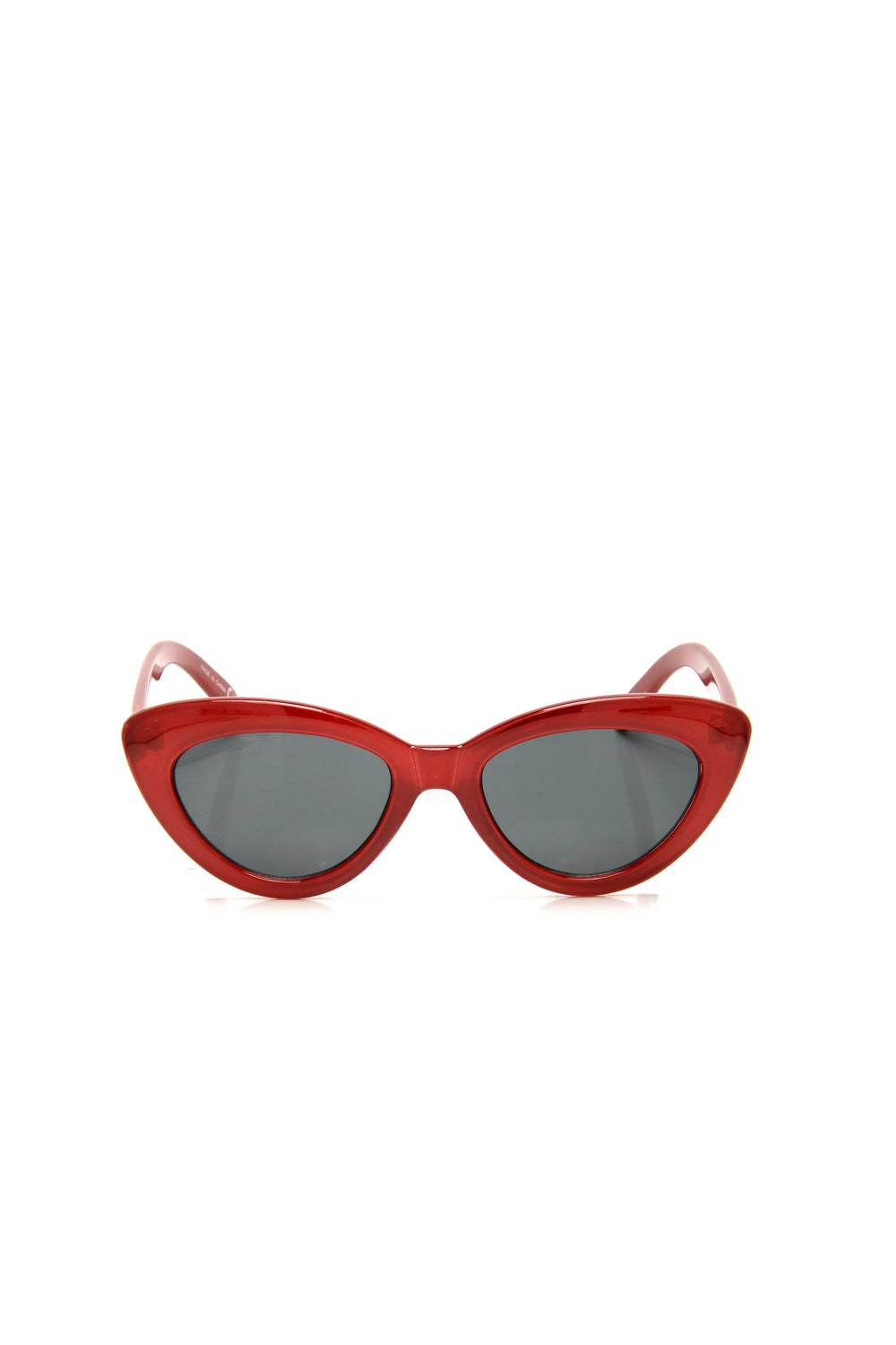 Guilty Party Sunglasses - Red