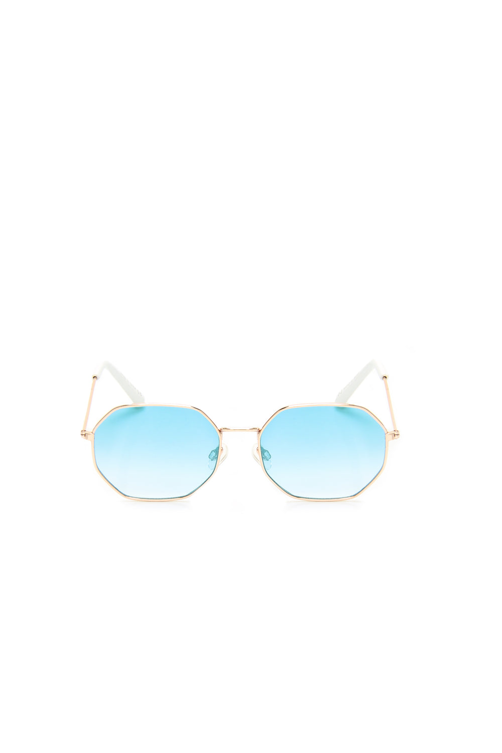 Hidden Hills Sunglasses - Gold/Aqua