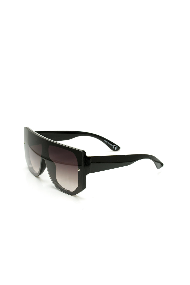 Over The Top Sunglasses - Black