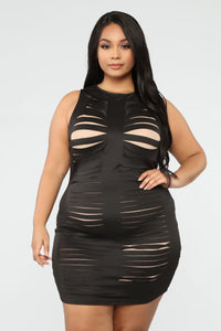 Need You For Tonight Dress - Black Angle 1
