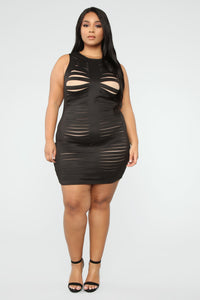 Need You For Tonight Dress - Black Angle 2