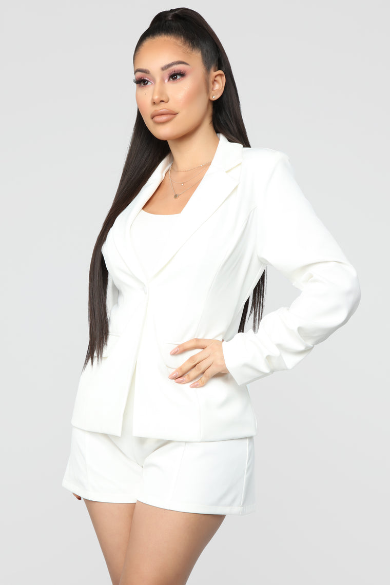 Flash And Class Neon Suit set - Off White