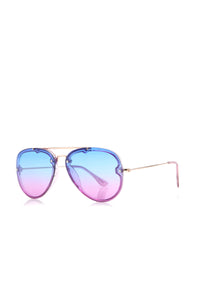 Sunset Beauty Sunglasses - Blue/Purple