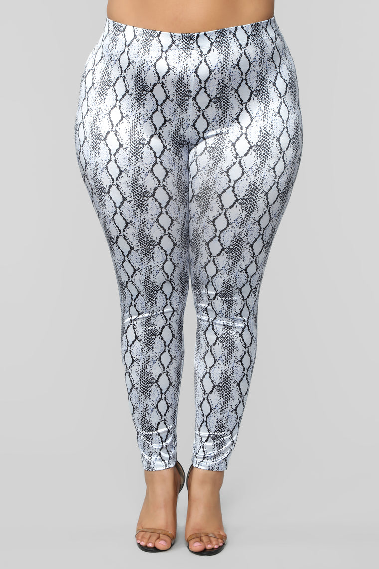 All I Want Leggings - Silver