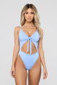Royally Tied Swimsuit - Blue