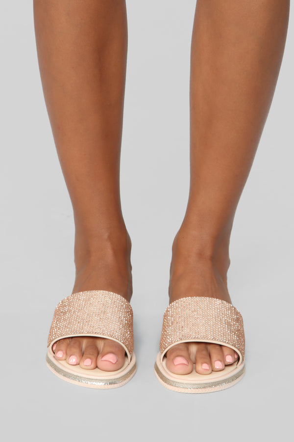 3be296c4a8 Wishing On A Star Flat Sandal - Nude