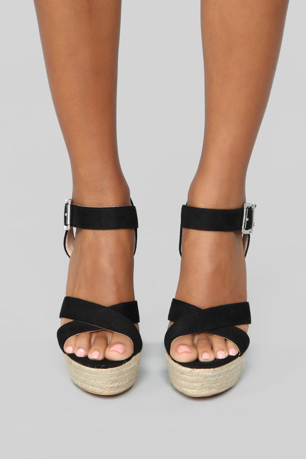 10ef8922e196 Bad As You Are Heeled Sandals - Black