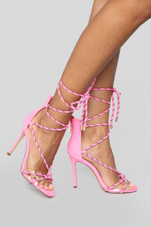 b2ce1881e20 Move It Heeled Sandal - Neon Pink