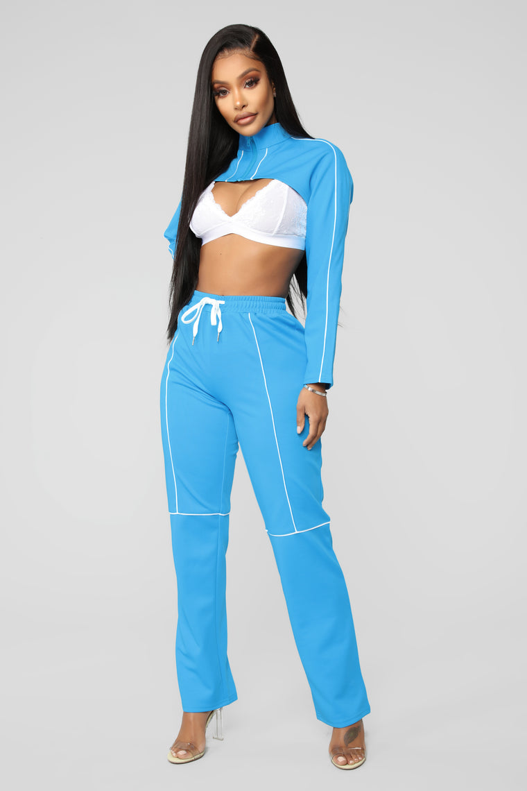 In Disguise Lounge Set - Sky Blue