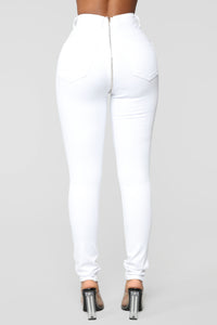 Being Extra Skinny Jeans - White