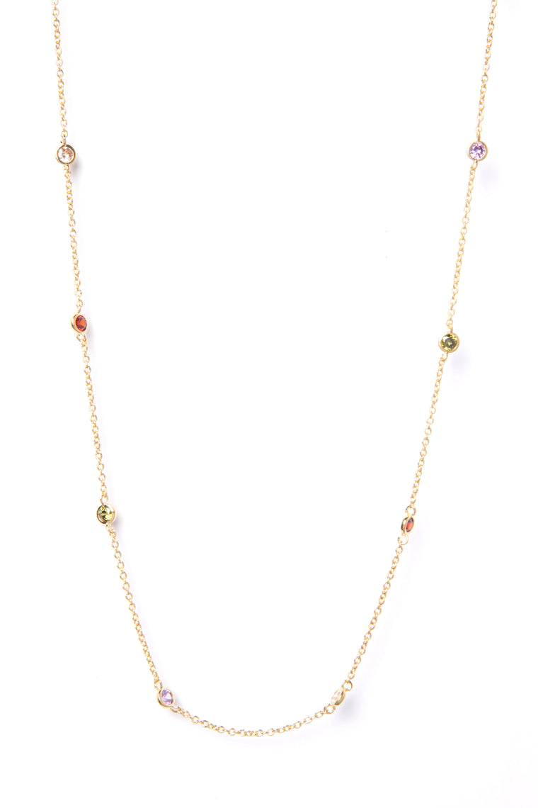 Dripping In Color Necklace - Multi
