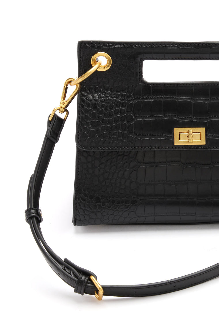 It's In The Details Handbag - Black