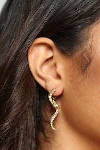 Garden Of Eden Earrings - Yellow