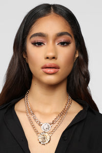 On The Prowl Necklace - Gold