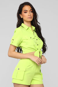 Colorful Dream Cargo Set - Lime