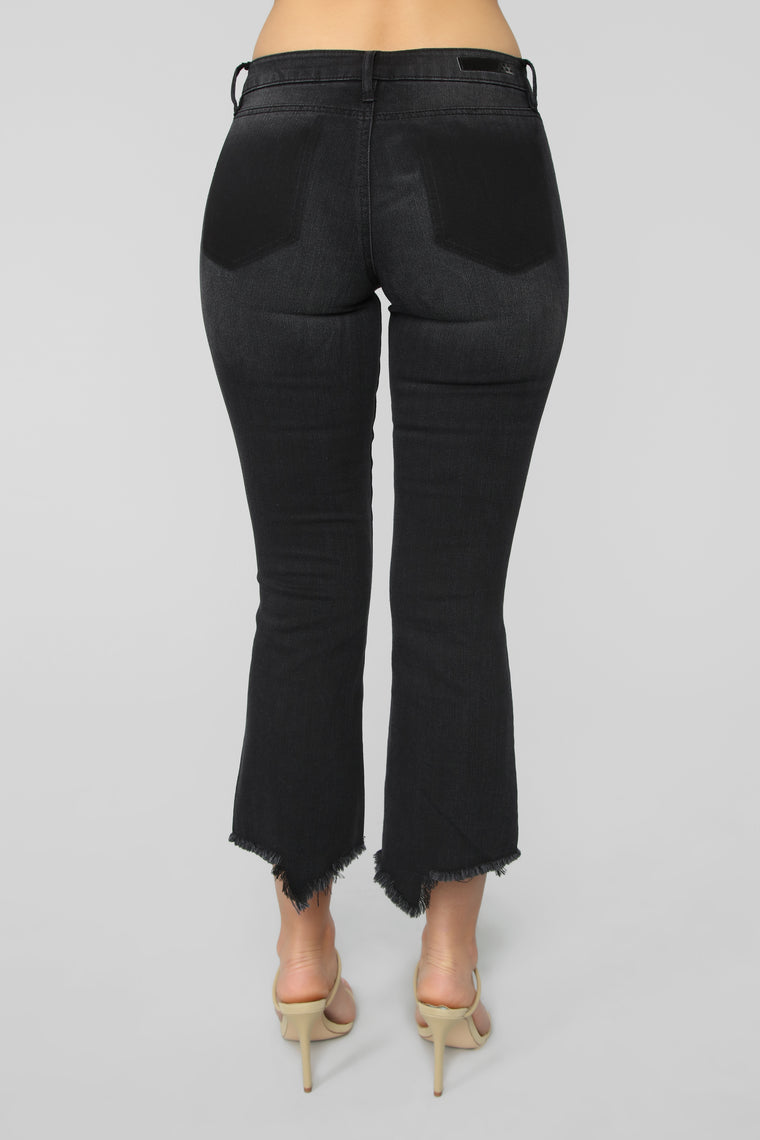 Better Than The Hype Mid Rise Jeans - Black