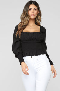 That Kind Of Girl Top - Black