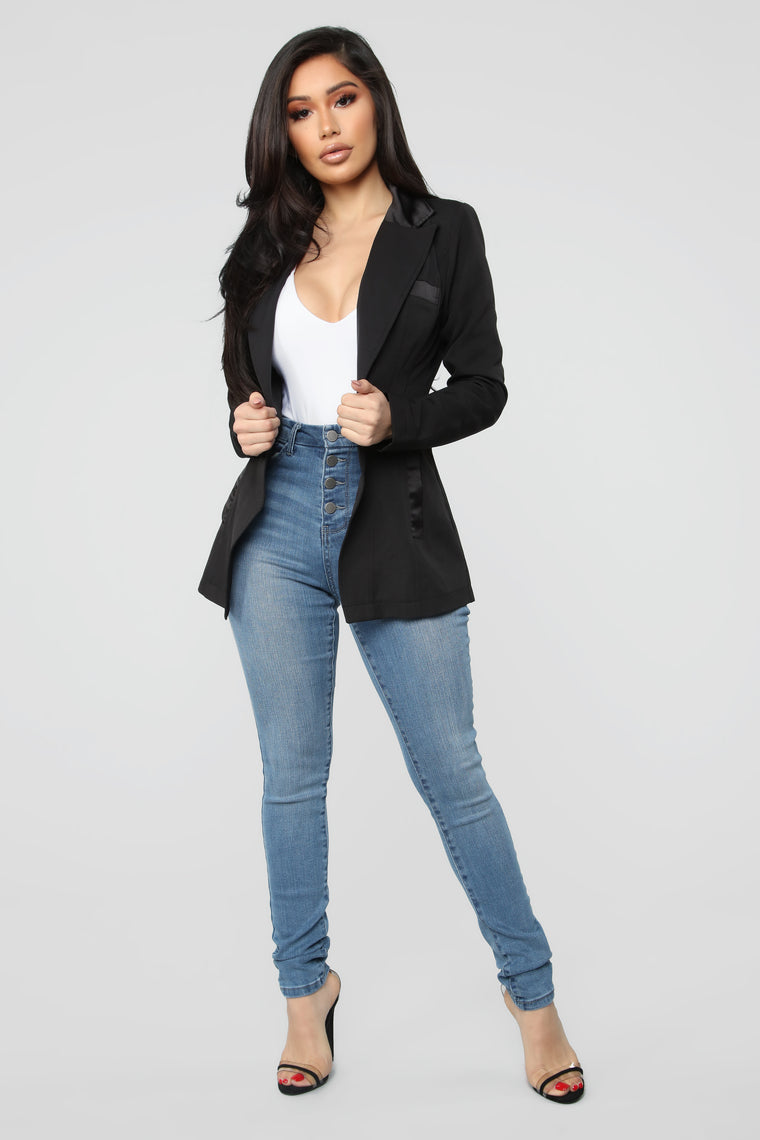 Got Things To Do Blazer - Black