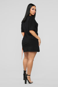 Overdressed Tunic Top - Black