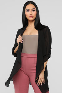 Light As A Feather Jacket - Black Angle 1