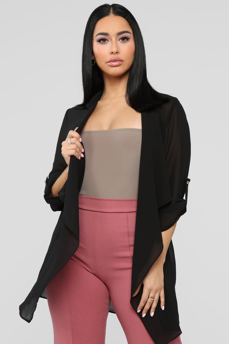 Light As A Feather Jacket - Black