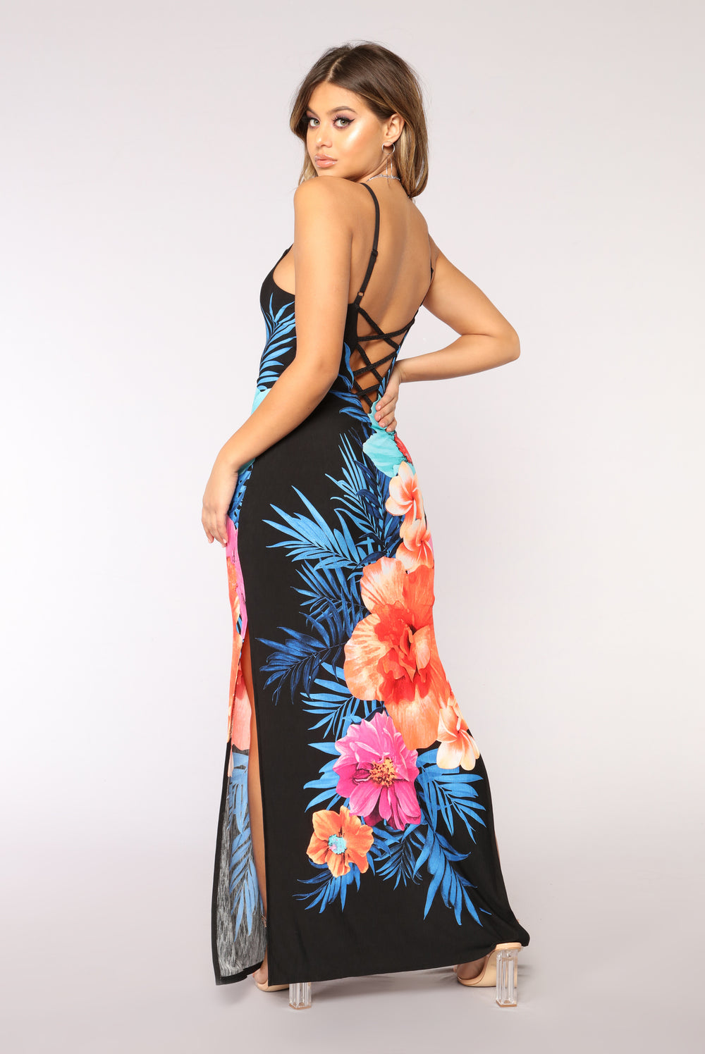 Maldives Maxi Dress - Black