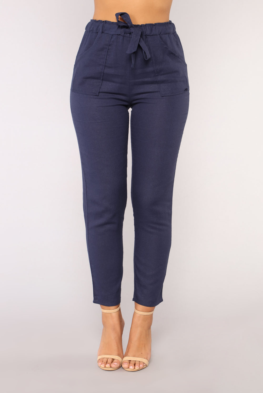 All Tied Up Pants - Navy