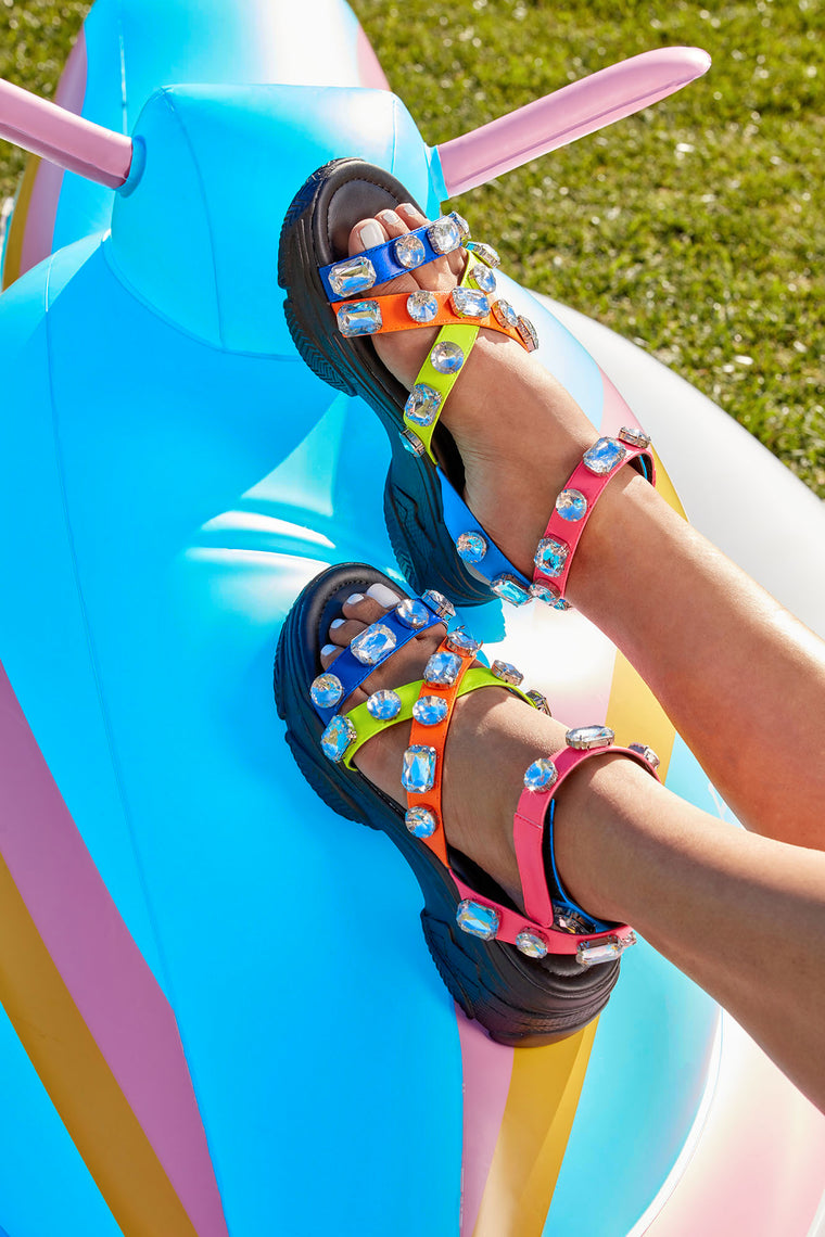 Obsession Flat Sandal - Multi