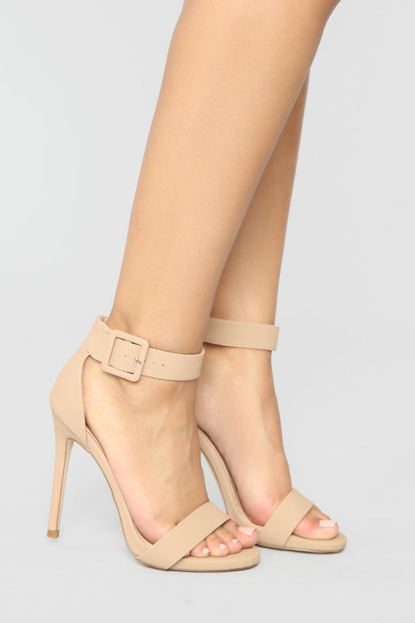 d620ca9dd402 Miss Independent Heeled Sandals - Nude