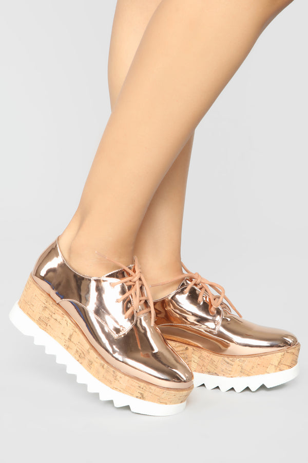 d9b9203d13d Shine On Sneakers - Rose Gold