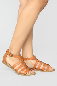 Not Over You Flat Sandals - Tan