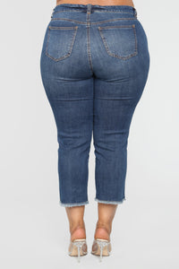 At Your Own Risk Jeans - Medium Wash Angle 5