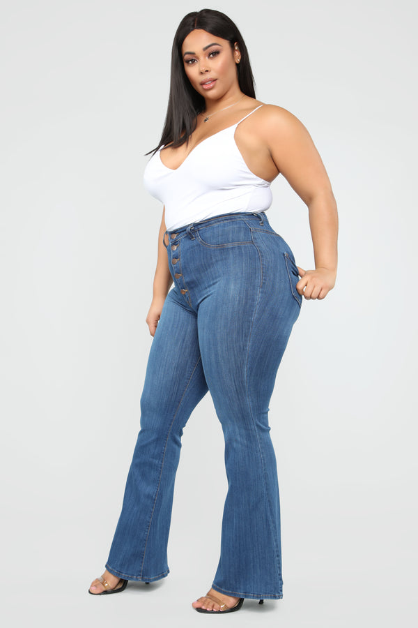 Plus Overalls & Flare Jeans