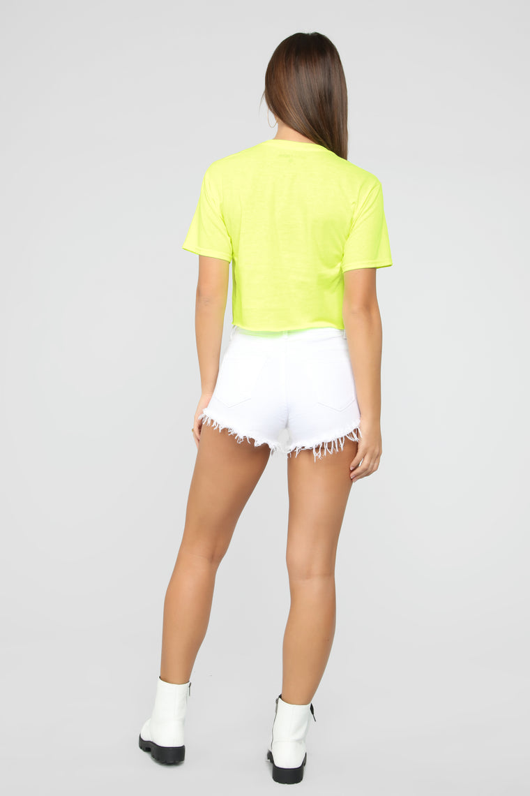 Next Crop Top - Neon Green