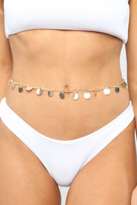 Little Dancer Belly Chain - Gold