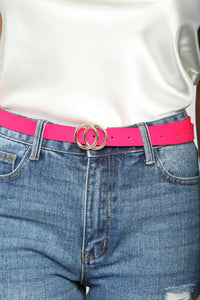 Gotta Have It Belt - HotPink