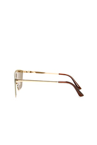 Cali Shield Sunglasses - Gold