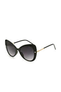 Shay Cat Eye Sunglasses - Black