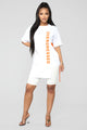 Overdressed Tunic Top - White